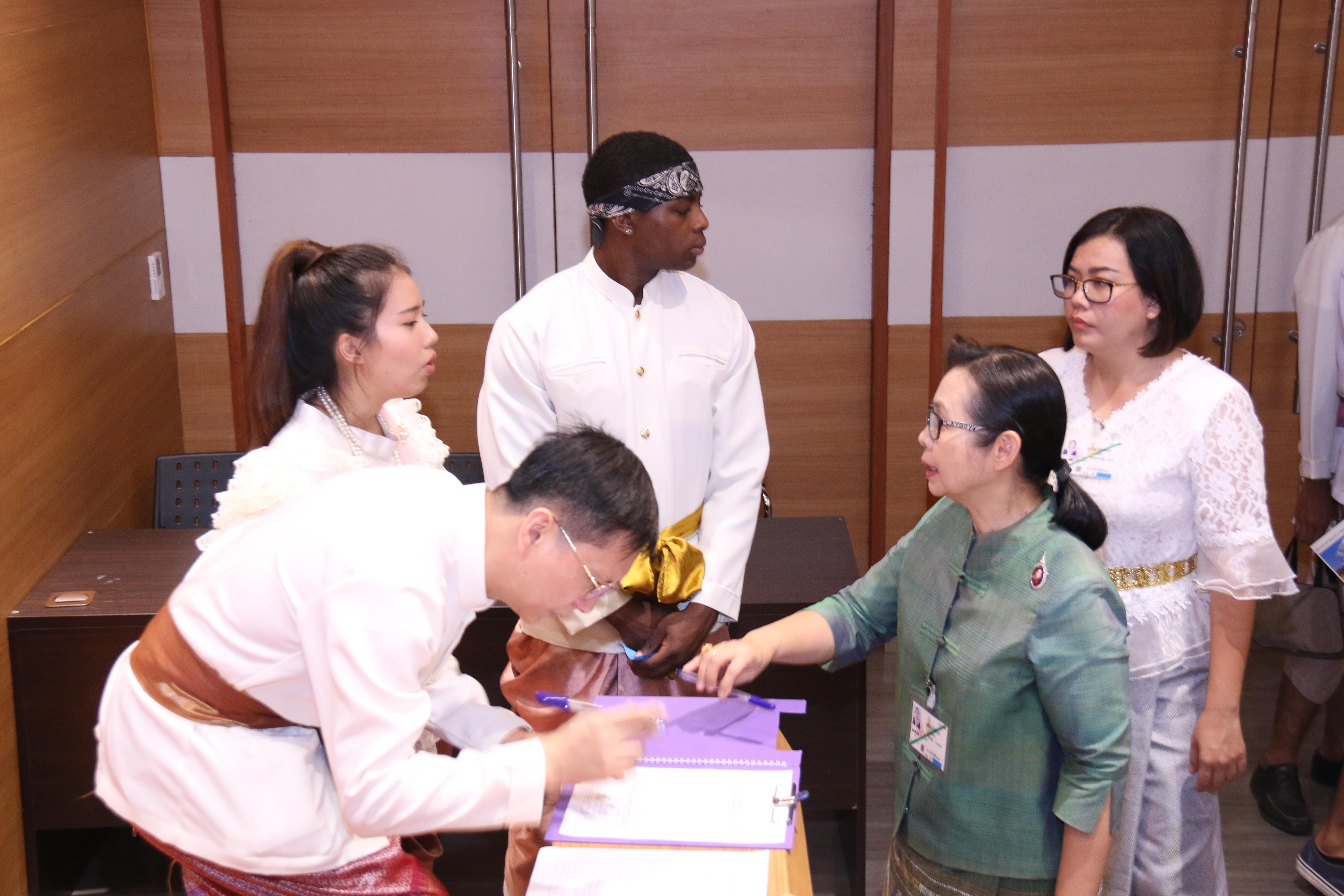 กิจกรรมเครือข่ายสัมพันธ์และส่งเสริมศิลปะวัฒนธรรม นักศึกษาไทย-มาเลเซีย