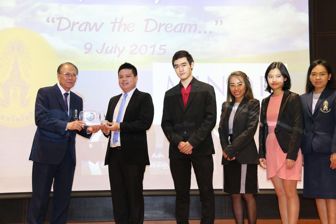 """กิจกรรม """" Draw the dream... """" คณะบริหารธุรกิจ"""