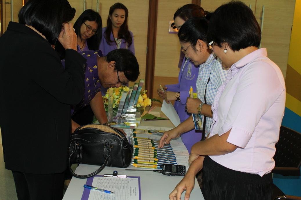 คณะผู้บริหารองค์กรปกครองส่วนท้องถิ่นในเขตพื้นที่ปทุมธานีมาเข้ามาศึกษาดูงาน