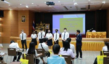 ปฐมนิเทศนักศึกษาใหม่ คณะบริหารธุรกิจ (เทียบโอน) ปีการศึกษา 2563