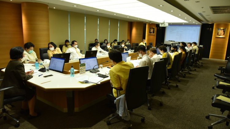 ประชุมการจัดการควบคุมภายในและบริหารจัดการความเสี่ยง ครั้งที่ 1 ประจำปีงบประมาณ 2563
