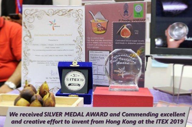 """""""FIGGIE"""" นวัตกรรมอาหารเสริมพุดดิ้งเพื่อผู้สูงอายุ รางวัล Silver Medal Award จาก ITEX 2019"""