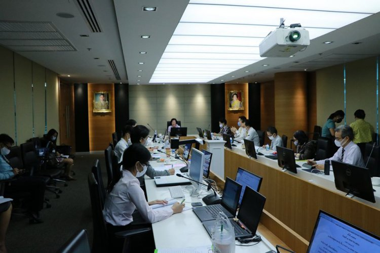 ประชุมคณะกรรมการพัฒนาการสื่อสารองค์กร ครั้งที่ 1/2563