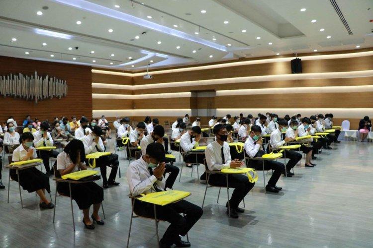พิธีปฐมนิเทศนักศึกษาใหม่ คณะเทคโนโลยีอุตสาหกรรม ปีการศึกษา 2563