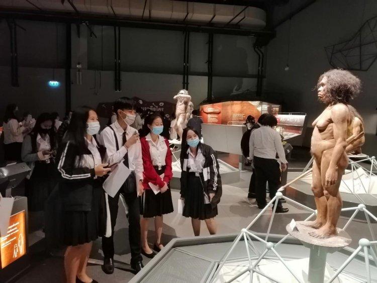 ทัศนศึกษาพิพิธภัณฑ์พระรามเก้าและเข้าอบรมเชิงปฎิบัติการ
